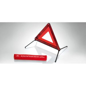 Kia Warning Triangle. Genuine Kia part is supplied. Kia Part Number 66942ADE00. Contact Kia Parts Direct if you require further details.