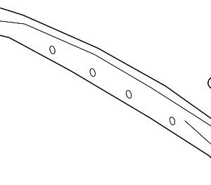 Stinger Upper Tailgate Frame Trim